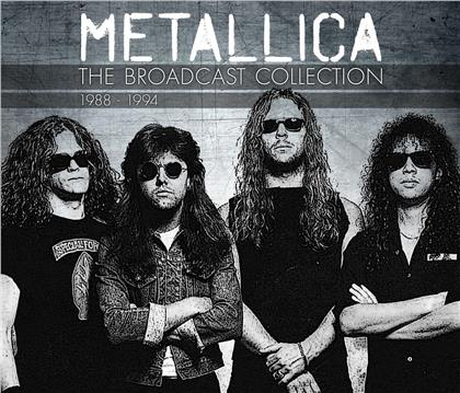 Metallica - The Broadcast Collection 1988-94 (4 CDs)