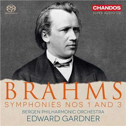 Edward Gardner, Johannes Brahms (1833-1897) & Bergen Philharmonic Orchestra - Symphonies Nos 1 And 3 (SACD)