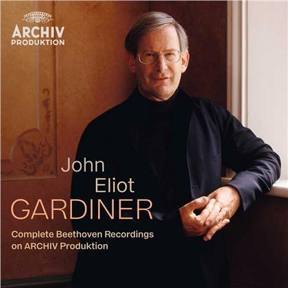 Sir John Eliot Gardiner & Ludwig van Beethoven (1770-1827) - Complete Beethoven (15 CDs)