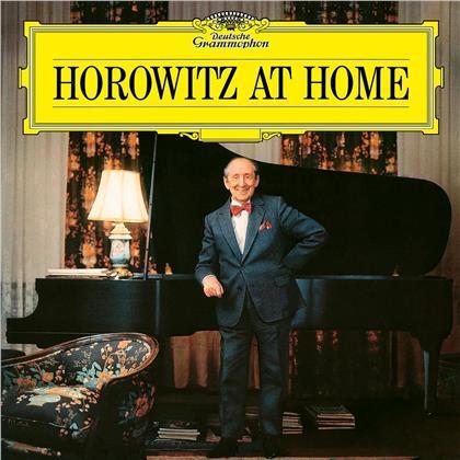 Vladimir Horowitz & Liszt F./Mozart W.A./Schubert F. - Horowitz At Home (2019 Reissue, LP)