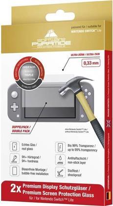 Nintendo Switch Light Schutzglas Doppelpack