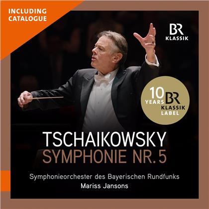 Peter Iljitsch Tschaikowsky (1840-1893), Mariss Jansons & Symphonieorchester des Bayerischen Rundfunks - Symphonie Nr. 5