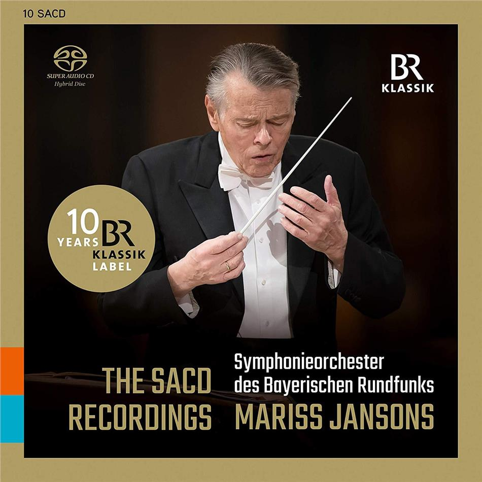 Mariss Jansons & Symphonieorchester des Bayerischen Rundfunks - The SACD Recordings (Hybrid SACD + 9 SACDs)