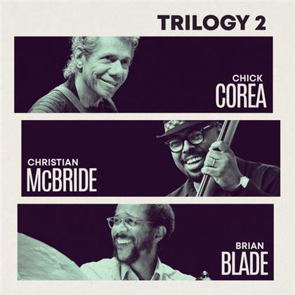 Chick Corea, Christian McBride & Brian Blade - Trilogy 2 (2 CDs)