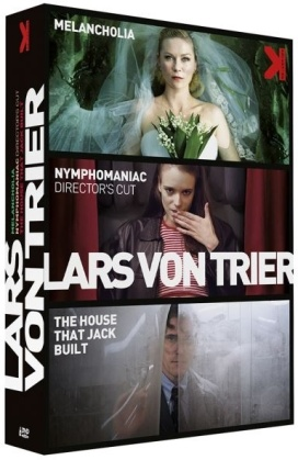 Lars Von Trier - Melancholia / Nymphomaniac / The House That Jack Built (3 DVDs)