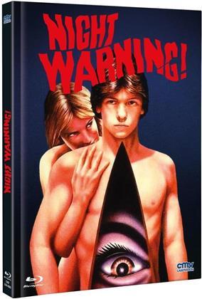 Night Warning (1982) (Cover B, Limited Edition, Mediabook, Uncut, Blu-ray + DVD)