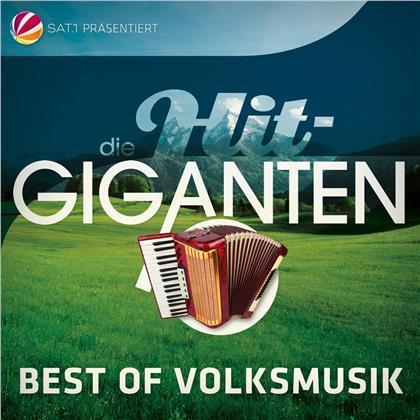 Die Hit Giganten Best Of Volksmusik (3 CDs)