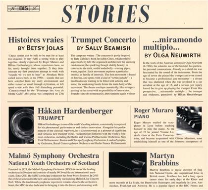 Betsy Jolas, Sally Beamish (*1956), Olga Neuwirth, Martyn Brabbins, Hakan Hardenberger, … - Stories - Histoires vraies, Trumpet Concerto, miramondo multiplo (SACD)