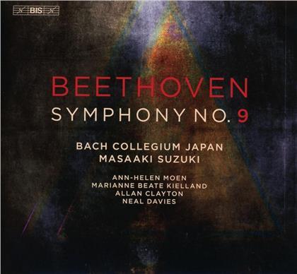 Ann-Helen Moen, Marianne Beate Kielland, Allan Clayton, Neal Davies, Ludwig van Beethoven (1770-1827), … - Symphony No. 9 (SACD)