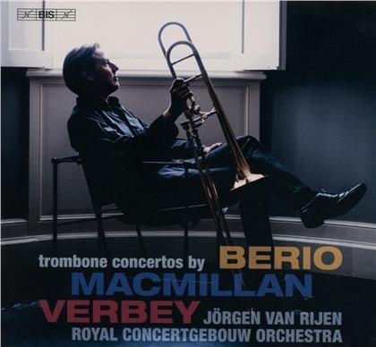 Luciano Berio (1925 - 2003), James MacMillan (*1959), Theo Verbey, Jörgen van Rijen, Royal Concertgebouw Orchestra, … - Trombone Concertos (SACD)