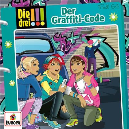 Die Drei !!! - 064/Der Graffiti-Code