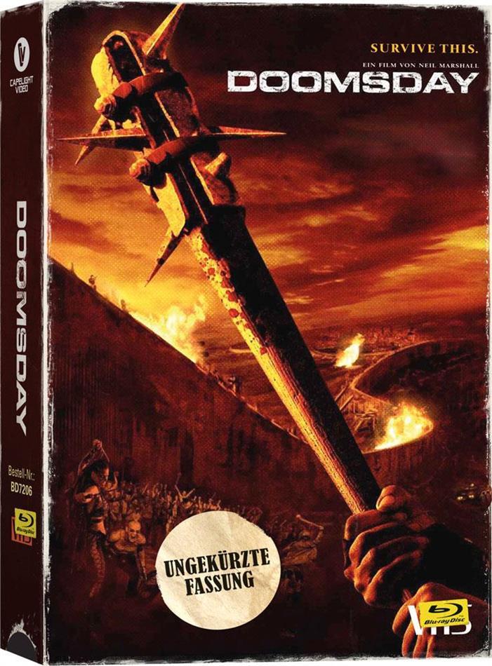 Doomsday - Tag der Rache (2008) (VHS Retro Edition, Limited Edition, Uncut)