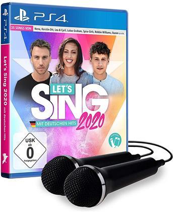 Let's Sing 2020 mit deutschen Hits [+ 2 Mics] (German Edition)