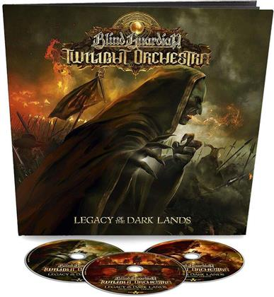 Blind Guardian`s Twilight Orchestra - Legacy of the Dark Lands (Earbook, CD + Buch)