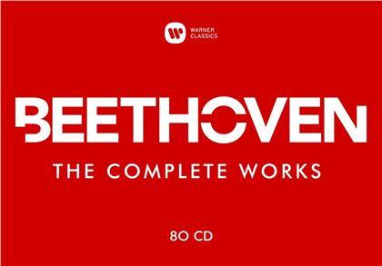 Otto Klemperer, Rudolf Buchbinder, Daniel Barenboim, + & Ludwig van Beethoven (1770-1827) - Beethoven: The Complete Works (80 CDs)