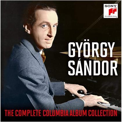 György Sándor, Franz Liszt (1811-1886), Frédéric Chopin (1810-1849), Béla Bartók (1881-1945), Johann Sebastian Bach (1685-1750), … - Complete Columbia Album Collection (17 CDs)