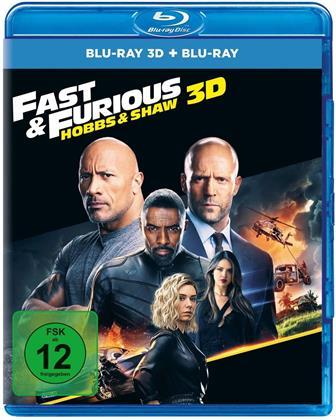 Fast & Furious: Hobbs & Shaw (2019) (Blu-ray 3D + Blu-ray)