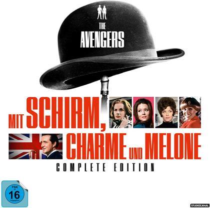 Mit Schirm, Charme und Melone - Complete Edition (54 DVDs)