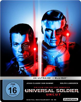 Universal Soldier (1992) (Limited Edition, Steelbook, Uncut, 4K Ultra HD + Blu-ray)