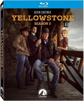 Yellowstone - Season 2 (3 Blu-rays)