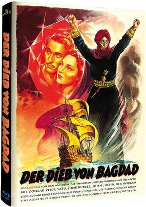 Der Dieb von Bagdad (1940) (Cover C, Limited Edition, Mediabook, Blu-ray + DVD)
