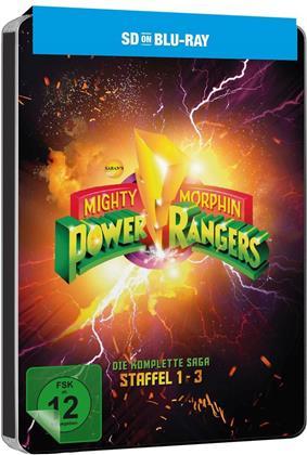 Mighty Morphin Power Rangers - Die komplette Saga (Steelbook, 6 Blu-rays)
