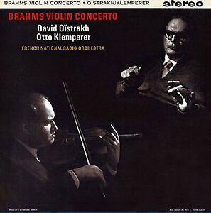 Brahms, Johannes Brahms (1833-1897), Otto Klemperer, David Oistakh & French National Radio Orchestra - Violin Concerto (Japan Edition, Hybrid SACD)