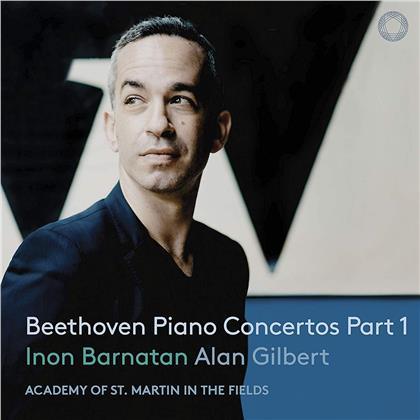 Ludwig van Beethoven (1770-1827) & Inon Barnatan - Piano Concertos, Part 1 (SACD)