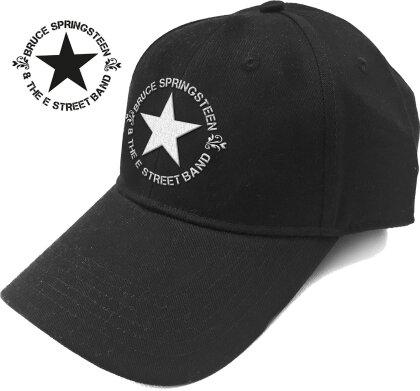 Bruce Springsteen Unisex Baseball Cap - Circle Star Logo