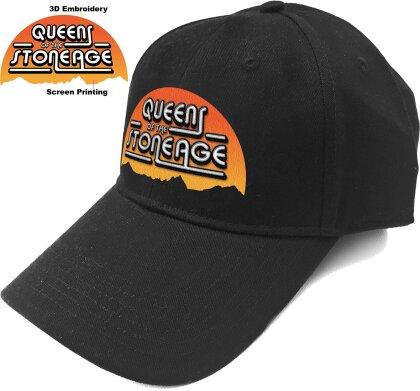 Queens Of The Stone Age Unisex Baseball Cap - Sunrise Logo