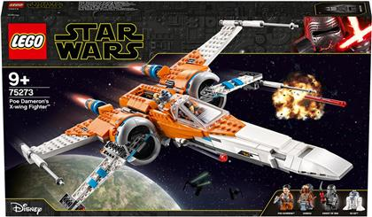 Poe Damerons X-Wing Star- - fighter, Lego Star Wars,