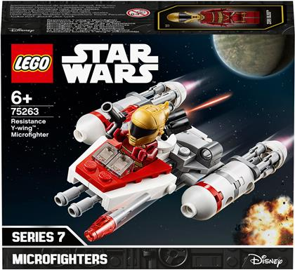 Widerstands Y-Wing Micro- - fighter, Lego Star Wars,