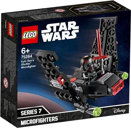 Kylo Rens Shuttle Micro- - fighter, Lego Star Wars,
