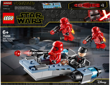 Sith Troppers Battle Pack - Lego Star Wars, 105 Teile,