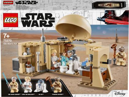 Obi-Wans Hütte - Lego Star Wars, 200 Teile,