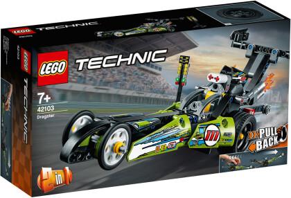 Dragster Rennauto - Lego Technic, 225 Teile,