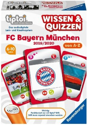 tiptoi Wissen & Quizzen - FC Bayern München 2019/ 2020