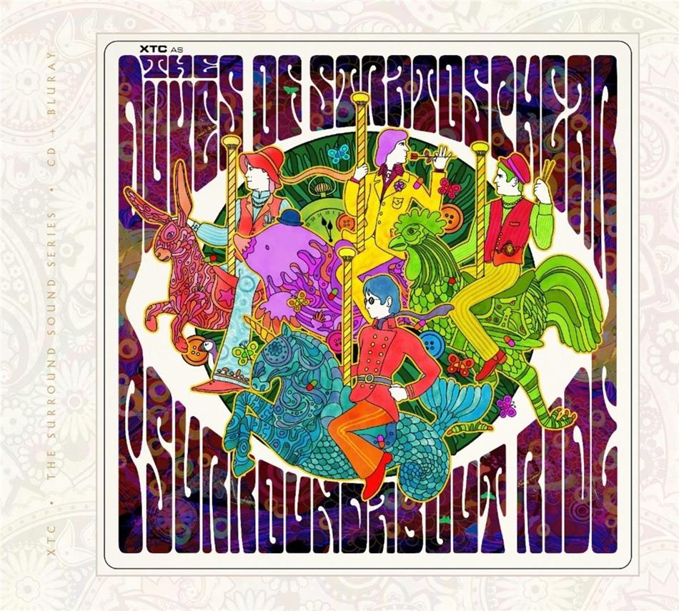 Dukes Of Stratosphear (XTC) - Psurroundabout Ride (CD + Blu-ray)