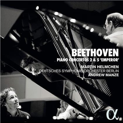 Ludwig van Beethoven (1770-1827), Andrew Manze, Martin Helmchen & Deutsches Symphonie-Orchester Berlin - Piano Concertos: Emperor