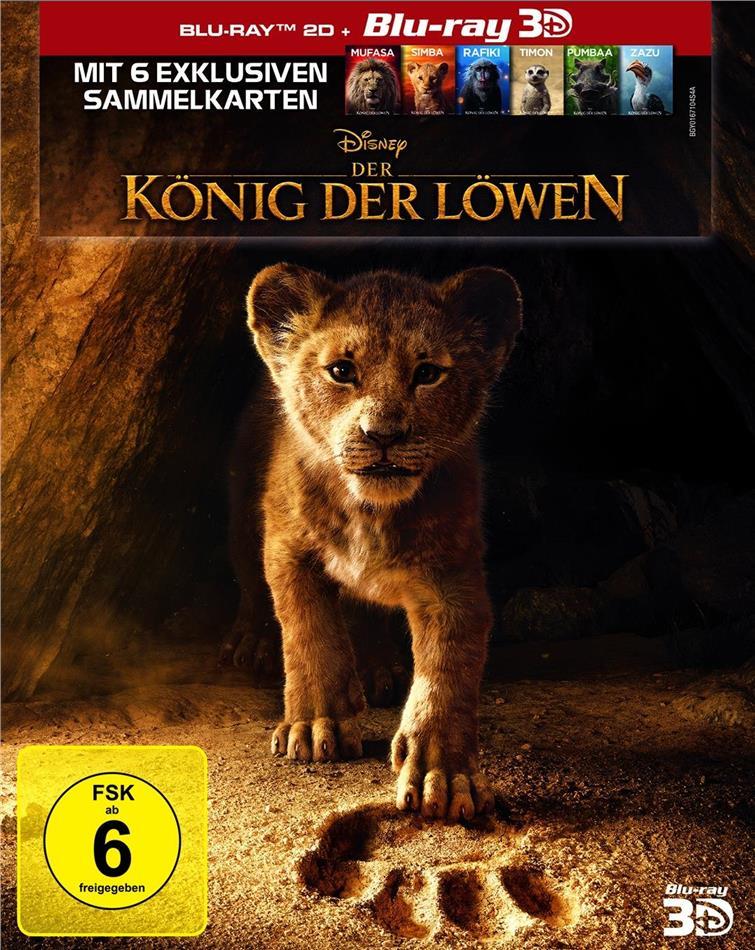 Der König der Löwen (2019) (Blu-ray 3D + Blu-ray)