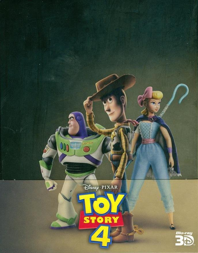 Toy Story 4 (2019) (Limited Edition, Steelbook, Blu-ray 3D + 2 Blu-rays)