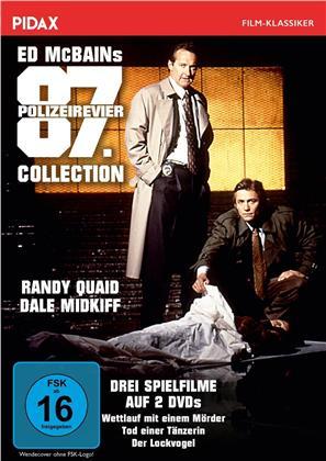 Ed McBains 87. Polizeirevier Collection - Wettlauf mit einem Mörder / Tod einer Tänzerin / Der Lockvogel (Pidax Film-Klassiker, 2 DVDs)