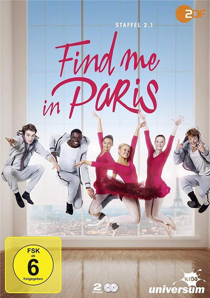 Find me in Paris - Staffel 2.1 (2 DVDs)
