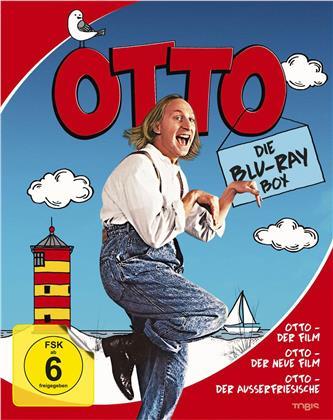 Die Otto Box - Otto - Der Film / Otto - Der neue Film / Otto - Der Ausserfriesische (3 Blu-rays)