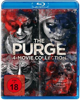 The Purge 1-4 (4 Blu-rays)