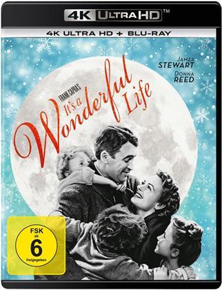 It's a Wonderful Life (1946) (n/b, 4K Ultra HD + Blu-ray)