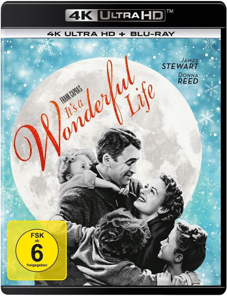 Ist das Leben nicht schön? (1946) (s/w, 4K Ultra HD + Blu-ray)
