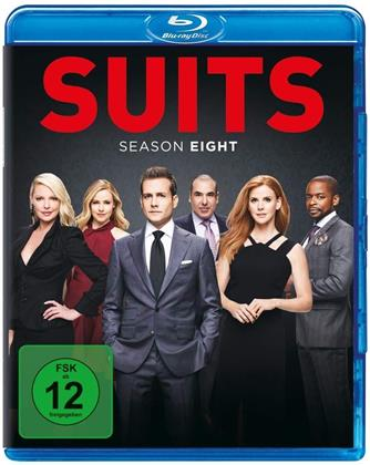 Suits - Staffel 8 (4 Blu-rays)