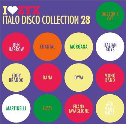 Various - ZYX Italo Disco Collection 28 (3 CDs)