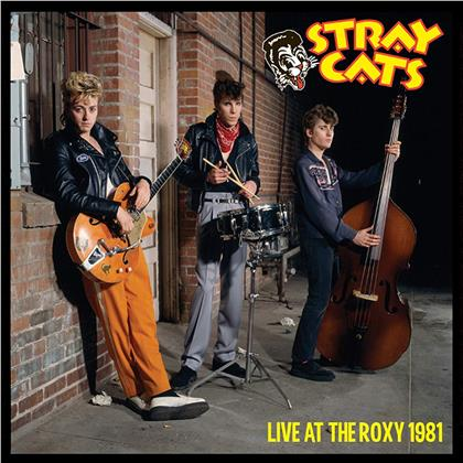 Stray Cats - Live At The Roxy 1981 (2019 Reissue, Gatefold, Limited, Colored, LP)
